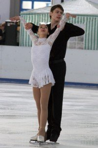 Vanessa Bauer und Nolan Seegert