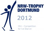 Logo ISU Competition for Ice Dance 2012