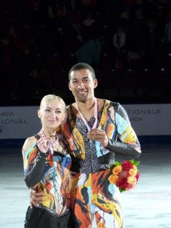 Aljona & Robin Goldmedaille