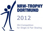 Logo isu competition for single skating 2012