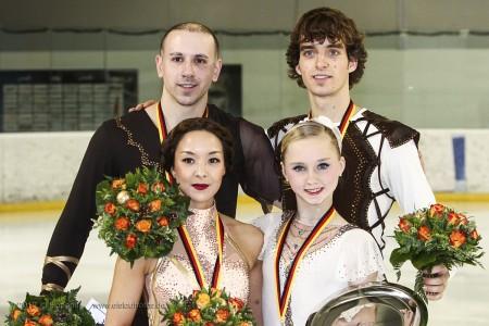 Sieger Paare DM 2013
