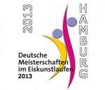 Logo Eiskunstlauf DM 2013