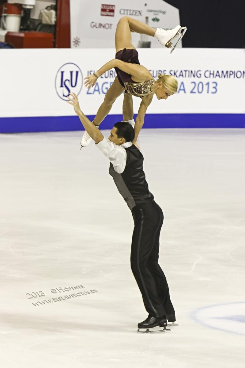 Tatiana VOLOSOZHAR , Maxim TRANKOV RUS