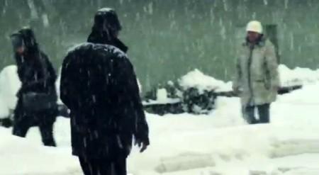 Schnee in Zagreb