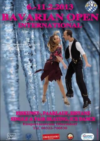 Plakat Bavarian Open 2013