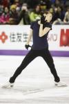 Training Yuna KIM (KOR)
