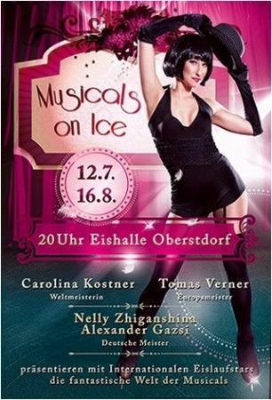 Plakat Musicals on Ice Oberstdorf