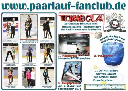 Plakat Tombola NHT 2013
