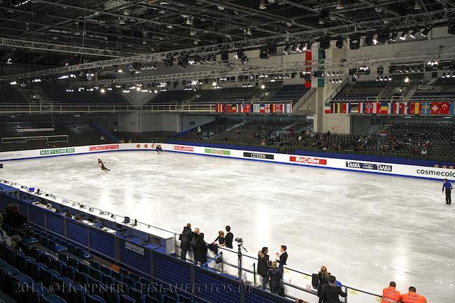 EM Budapest Eishalle