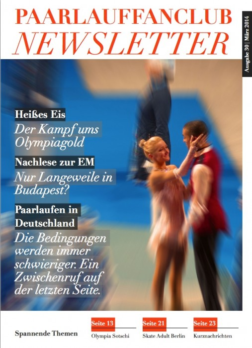 Titelblatt Newsletter 30