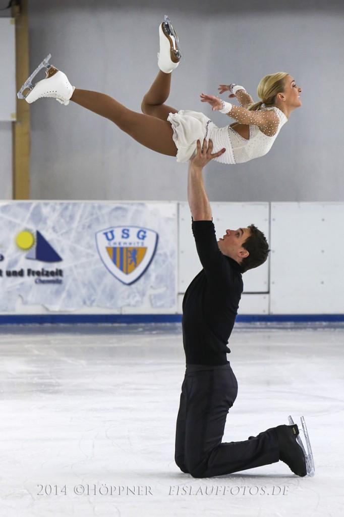 Schaulaufen mit Aljona Savchenko - Bruno Massot