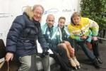 Nelli ZHIGANSHINA & Alex GAZSI mit dem Trainergespann M. Skotnicky/R. Sinicin und 66.08 Pkt. im Kurztanz