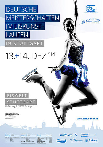 Plakat DM 2015 Stuttgart
