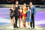 Die Europameister 2015, vlnr Papadakis/Cizeron, Tuktamysheva, Fernandez, Kavaguti/Smirnov