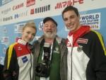 WM Bronze für Aljona und Bruno - ein Foto für den Fanclub