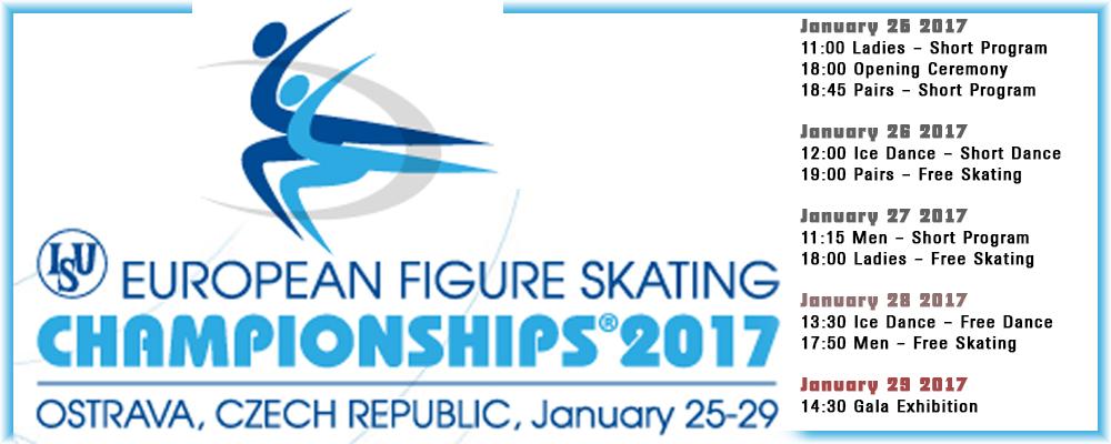 Eiskunstlauf Europameisterschaften 2017