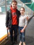 Lisa Zhuk / Maxim Miroshkin aus Russland sind in diesem Jahr das Vorzeigepaar.