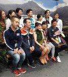 Ex-Weltmeisterin Midori Ito aus Japan, war die prominenteste am Start