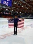 Camden Pulkinen aus den USA holt sich den Sieg in Linz.