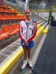 Eine Klasse für sich, Alena Kostornaja! Gold mit über 203,50 Punkten