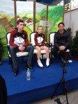 Deutschland bucht zunächst achten Platz. Talisa Thomalla / Robert Kunkel erreichen 44,35 Pkt.