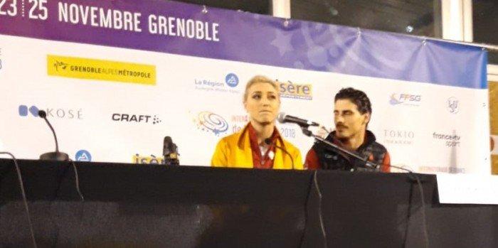 Innovativ die Franko-Kanadier Gilles/Portier auf Platz drei (Bild: René Müller)