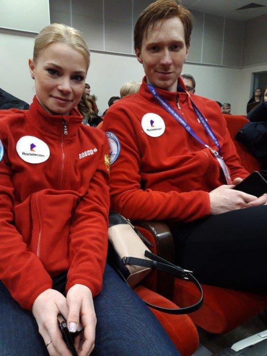 Russland mit Evgenia und Vladimir auf Platz zwei