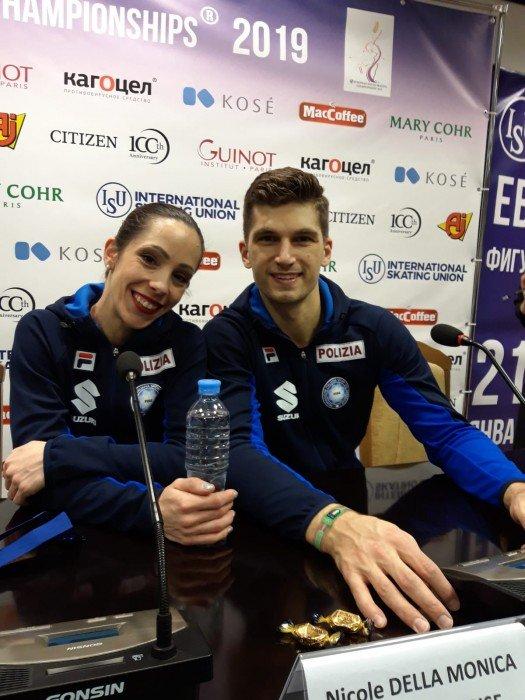 Platz drei für Nicole Della Monica und Matteo Guarise aus Italien