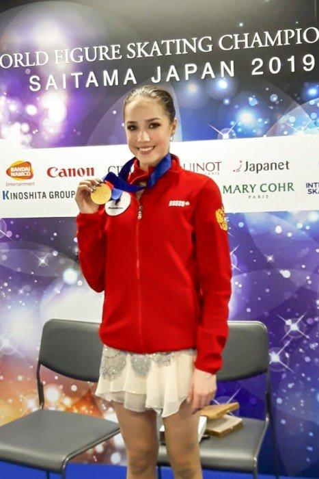 SP1.Alina ZAGITOVA (RUS)