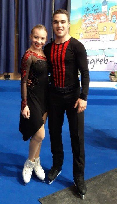 Amanda Peterson/Stephano Valentino Schuster erreichen im Rhythm Dance 45,88 Pkt.
