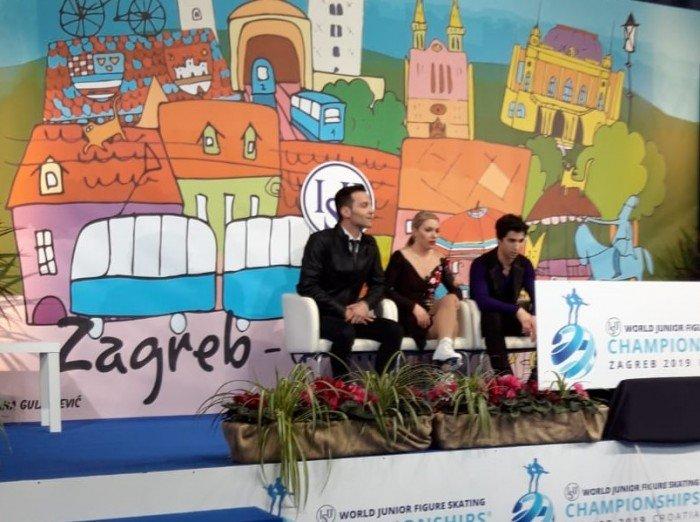 Starker argentinischer Tango der Kandadier Lajoie/Lagha mit 70,14 Pkt