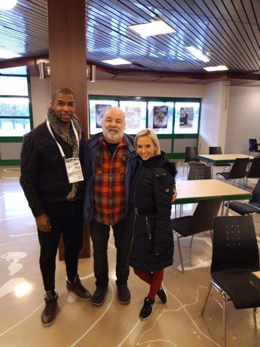 Mit bei der Eiskunstlauferöffnung der Europameisterschaften dabei: Annette Dytrt & Yannik Bonheur!